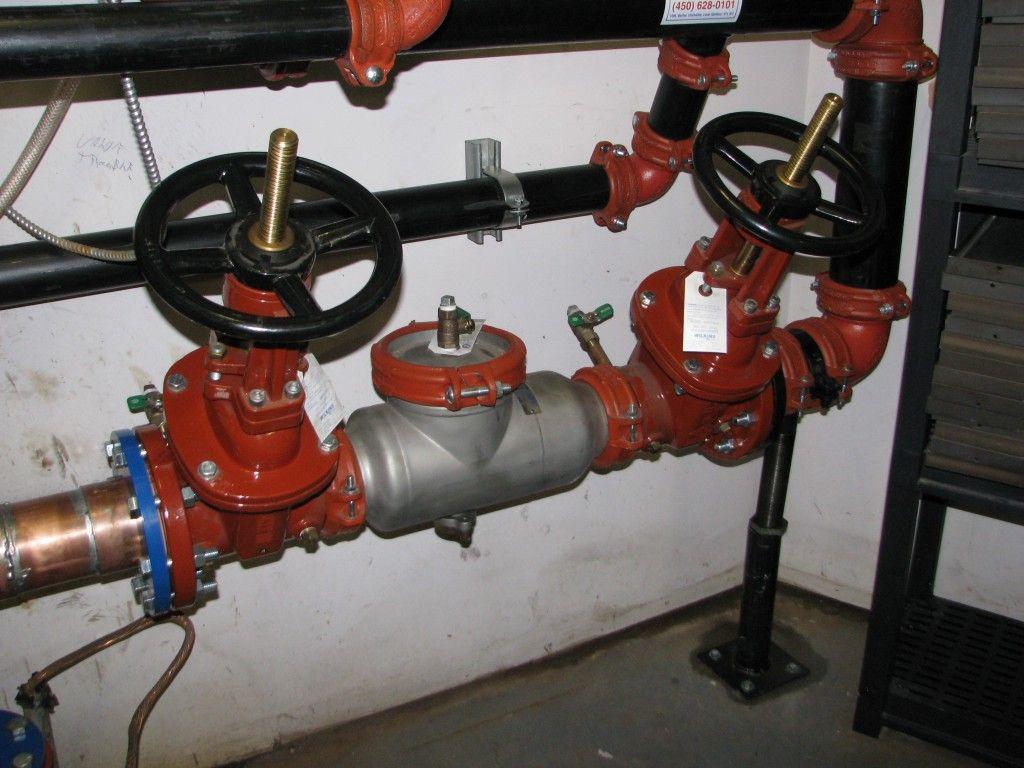 Dispositifs antirefoulement v rifiables backflo shop - Casse auto robinet ...